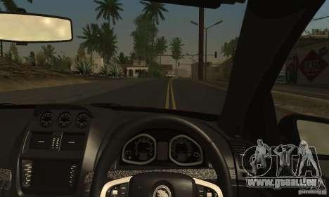 Holden HSV GTS pour GTA San Andreas vue de côté
