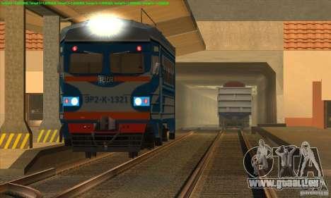 Augmentation de la circulation des trains pour GTA San Andreas deuxième écran