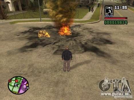 Overdose effects V1.3 für GTA San Andreas fünften Screenshot