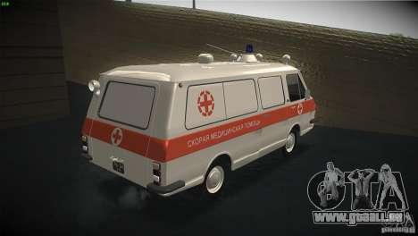 RAF 22031 ambulance pour GTA San Andreas vue de droite
