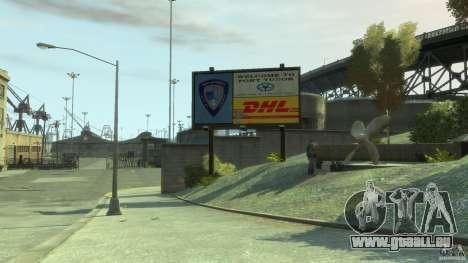 DHL-Port für GTA 4 Sekunden Bildschirm
