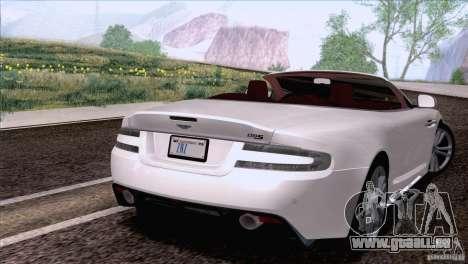 Aston Martin DBS Volante 2009 für GTA San Andreas linke Ansicht