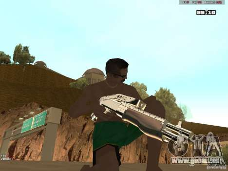 Weapon Pack V1.0 für GTA San Andreas her Screenshot