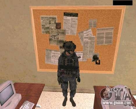 Peau du soldat de Cod MW 2 pour GTA San Andreas