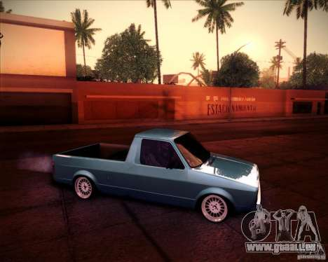Volkswagen Caddy Custom 1980 pour GTA San Andreas vue de droite