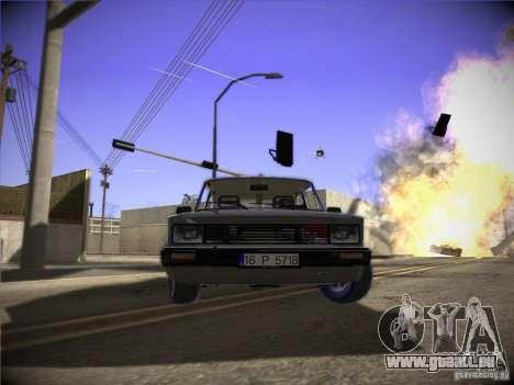 Tofas 124 Serçe für GTA San Andreas linke Ansicht
