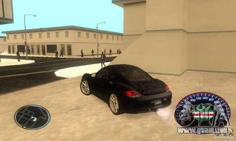 Chechen Speedometr für GTA San Andreas