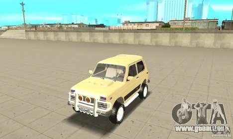 VAZ 21213 4 x 4 pour GTA San Andreas
