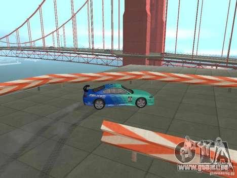 New Drift Track SF pour GTA San Andreas septième écran