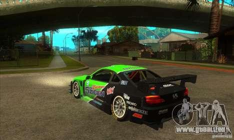 Nissan Silvia S15 - GT für GTA San Andreas zurück linke Ansicht