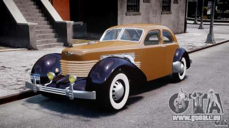 Cord 812 Charged Beverly Sedan 1937 pour GTA 4