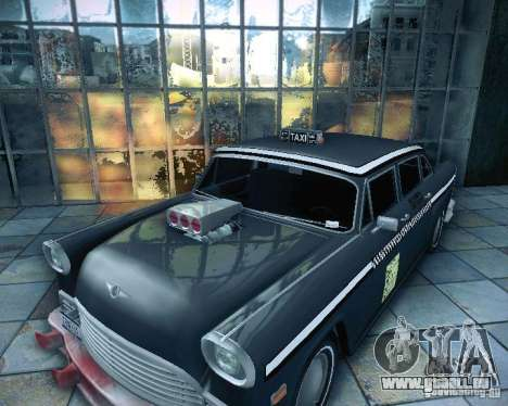 Diablo Cabbie HD pour GTA San Andreas vue de droite