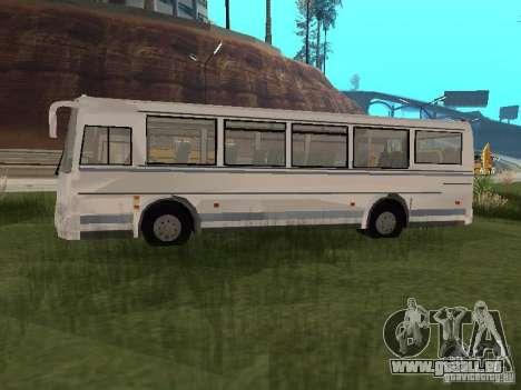 PAZ 4230 Aurora pour GTA San Andreas sur la vue arrière gauche