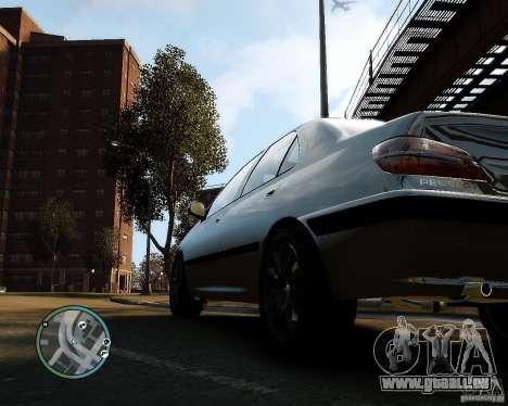 Peugeot 406 pour GTA 4 Vue arrière de la gauche