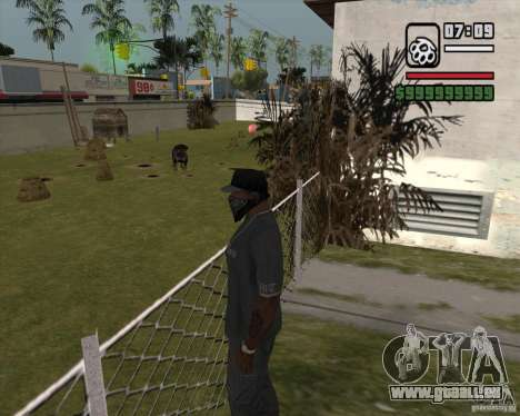 Ryders Pet Dog für GTA San Andreas
