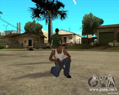 Armes de call of duty pour GTA San Andreas cinquième écran