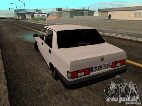 Tofas Sahin DRIFT pour GTA San Andreas laissé vue