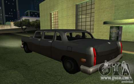 Civilian Cabbie für GTA San Andreas linke Ansicht