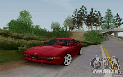 BMW 850i v2.0 Final für GTA San Andreas rechten Ansicht