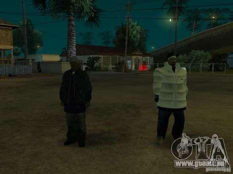 Nouveaux skins pour rainure pour GTA San Andreas troisième écran
