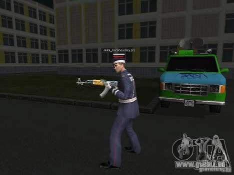 Peaux de milice pour GTA San Andreas cinquième écran