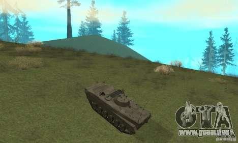 BMP-1 grau für GTA San Andreas Rückansicht