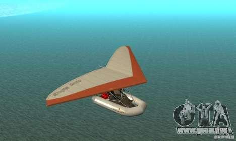 Wingy Dinghy (Crazy Flying Boat) für GTA San Andreas Rückansicht