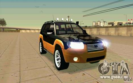 Subaru Forester Cross Sport 2005 pour GTA San Andreas vue de côté