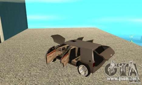 Jemala pour GTA San Andreas vue intérieure