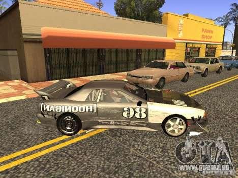 Elegy Drift Korch v2.1 pour GTA San Andreas vue arrière