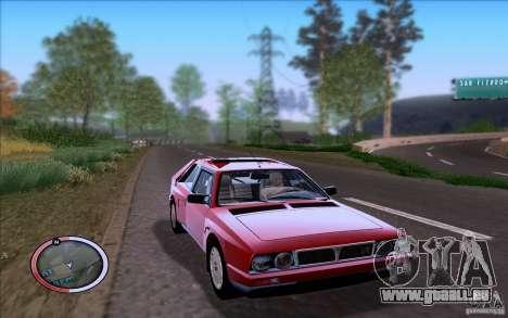 Lancia Delta S4 Stradale (SE038) pour GTA San Andreas laissé vue