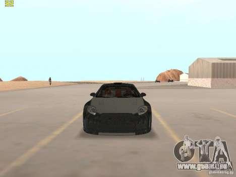 Mitsubishi Eclipse GT NFS-MW pour GTA San Andreas laissé vue