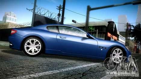 Maserati Gran Turismo 2008 pour GTA San Andreas laissé vue
