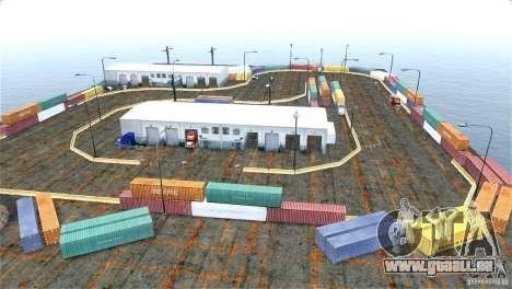Blur Port Drift für GTA 4 Sekunden Bildschirm