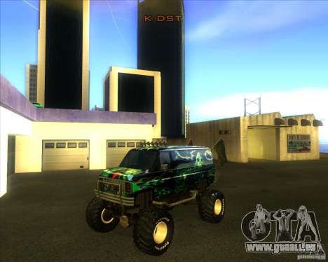 Ford E-250 monster truck 1986 pour GTA San Andreas
