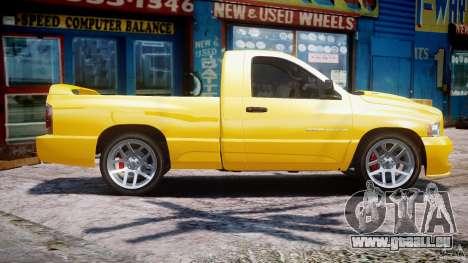 Dodge Ram SRT-10 2003 1.0 pour GTA 4 est une gauche