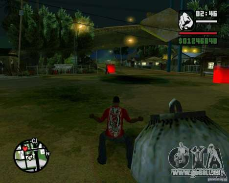 Wrecking ball pour GTA San Andreas