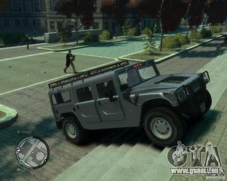 Hummer H1 pour GTA 4 est un droit