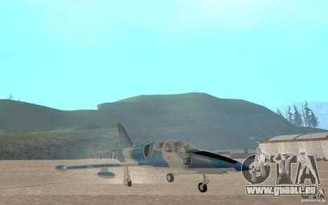 L-39 Albatross für GTA San Andreas Innenansicht
