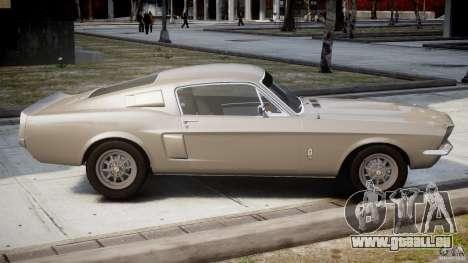 Shelby GT500 1967 pour GTA 4 est un côté