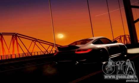 Porsche 911 Sport Classic für GTA San Andreas Innenansicht