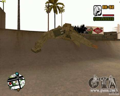 Parkour discipline beta 2 (full update by ACiD) pour GTA San Andreas