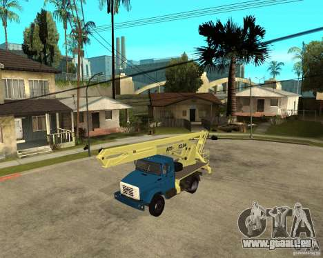 ZIL-433362 Extra Pack 1 pour GTA San Andreas laissé vue