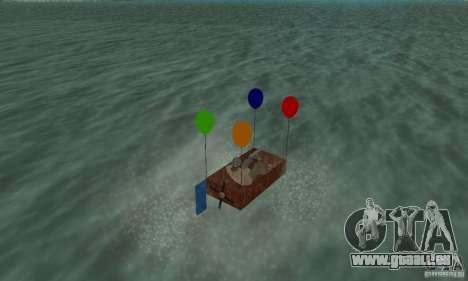 Ballooncraft pour GTA San Andreas laissé vue