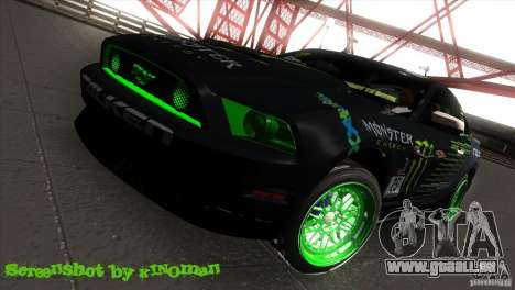 Ford Shelby GT500 Falken Tire für GTA San Andreas