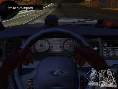 Ford Crown Victoria Police Interceptor 2008 pour GTA San Andreas vue de côté