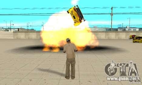 Capacité surnaturelle de CJ-j'ai pour GTA San Andreas cinquième écran