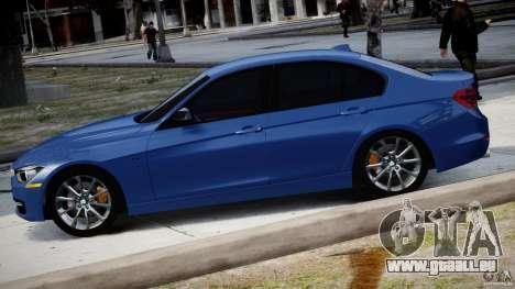 BMW 335i E30 2012 Sport Line v1.0 für GTA 4 linke Ansicht