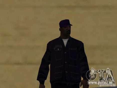 Neue Skins Ballas für GTA San Andreas sechsten Screenshot