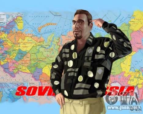 Écran de démarrage de la Russie en Amérique pour GTA 4 cinquième écran